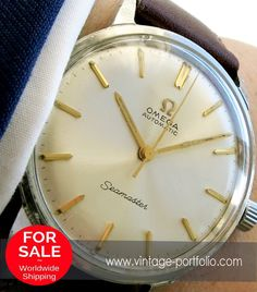 Serviced Omega Seamaster Automatic watch