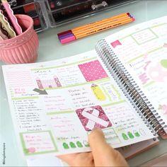 Transforme seu momento de organização em uma terapia, uma delícia... www.paperview.com.br #meudailyplanner #dailyplanner #decoration #plannerdecoration