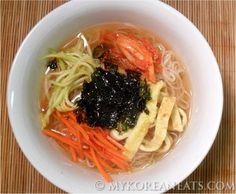Janchi+Guksu+잔치+국수+(Korean+Warm+Noodles+aka+Feast+Noodles)