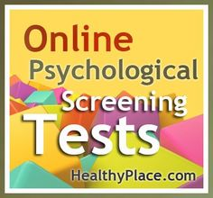 Online Psychological Tests | Here are some useful online psychological screening tests. Most are short and all are immediately scored.