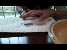 Newspaper nails TUTORIAL (with WATER!)
