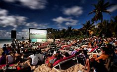 Where to watch free movies on the beach at the Riviera Maya Film Festival! #RMFF March 9 - 15, 2014