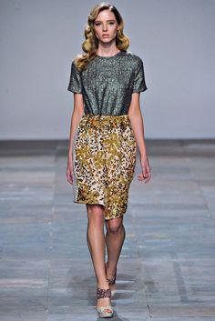 Michael van der Ham Fall 2012 Ready-to-Wear Fashion Show - Nathalie Sorrell