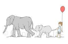 The elephant walk!