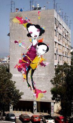 Hay de grafittis a grafittis. Eso es una muestra de un excelente manejo del lenguaje callejero en el arte ️️️ #Foto #SinFiltros #FotoDelDia #FotoViajera #CosasDeFotografos #Fotografia #Photography #DIY # Hobby #Nikon #Canon #Sony #Fuji #artecallejero