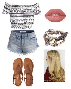 """""""Casually beautiful"""" by valeriethefashionlover on Polyvore featuring H&M, Aéropostale and Lime Crime"""