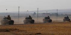 ΒΙΝΤΕΟ - Μάχες μεταξύ Τούρκων και Κούρδων στη Συρία