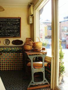 Pretty bakery shop in Japan