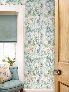 Cirsiun - Damson Wallpaper