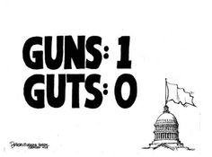 Guns:1 Guts:0