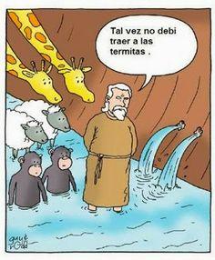 El Cosmos de Yoma: Chiste: Animales en el Arca de Noé.