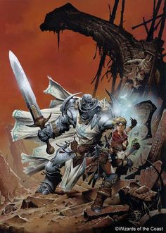 For me, the artwork of Wayne Reynolds defines my vision of Fantasy Tabletop RPG worlds.