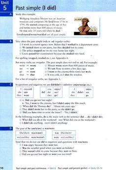 past simpl - I did Учебник 2004 года под руководством Реймонда Мерфи