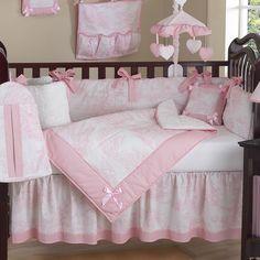 aww dream nursery bedding! I love pink!