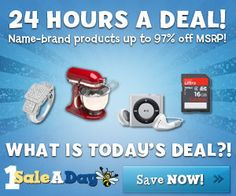 1SaleADay.com - Great Deals, Just 24 Hours