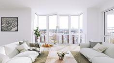 Scandinavian apartment visualization by Juraj Talcik | Veronika Demovicova