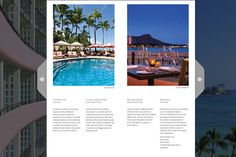 Explore their new The Royal Hawaiian Brochure and learn all about the indoor and outdoor attractions in beautiful Honolulu.   With its rich history, strong ambassador loyalty, and connection to Hawaiian culture, this historic Honolulu hotel is spectacularly located on the famed Waikiki Beach.   #WebBook #RackBrochure