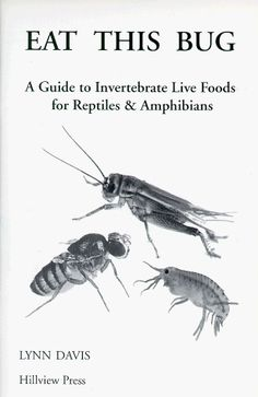 Eat This Bug: A Guide to Invertebrate Live Foods « Library User Group