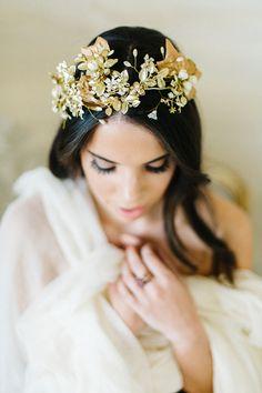 dreamy bridal portraits | Emily Sacco Photography | Glamour & Grace