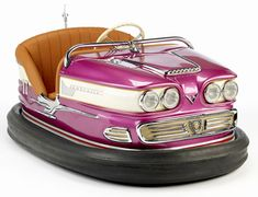 1955 Bumper Car...put miles on ones just like this on the boardwalk in Ocean City, Maryland during my summers growing up.