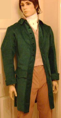 Regency mens jacket poldark