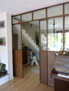 1000 images about verrieres on pinterest atelier - Fabriquer une verriere interieure ...