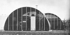 """Jean Prouve, """"Youth Center in Ermont, France"""", (1967)"""