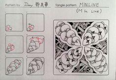 MinLine Tangle Pattern