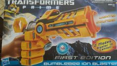 NEW Transformers Prime Bumblebee Ion Blaster Gun 1st Edition Boxed FREESHIP | Toys & Hobbies, Action Figures, TV, Movie & Video Games | eBay!