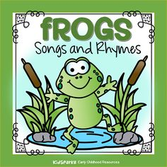 Frogs songs and rhymes for your preschool, prek and Kindergarten teaching and learning plans. Frog Crafts Preschool, Frog Activities, Preschool Music, Preschool Science, Toddler Activities, Preschool Projects, Preschool Themes, Reading Activities, Therapy Activities