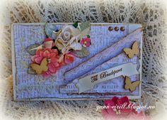 Gunn-Eirill`s Paper Magic: Bryllups kort/ DT Scrappehjertet