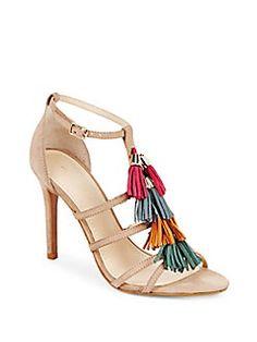 fc1943c55642 Saks Fifth Avenue - Leather Ankle-Strap Stilettos Designer Sandals