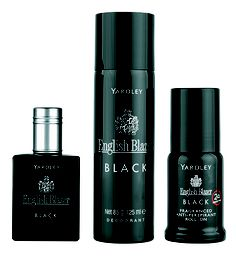 Yardley English Blazer Black 50ml eau de toilette gift set