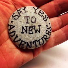 Say yes, by Lene Mortensen