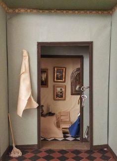 Samuel van Hoogstraten, Interior. on ArtStack #samuel-van-hoogstraten #art