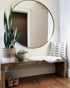 25 Perfect Minimalist Home Decor Ideas. If you are looking for Minimalist Home Decor Ideas, You come to the right place. Below are the Minimalist Home Decor Ideas. This post about Minimalist Home Dec. Interior Design Minimalist, Minimalist Decor, Minimalist Bedroom Small, Interior Design Simple, Modern Home Design, Modern Mirror Design, Modern Mirrors, Interior Design Plants, Modern Lamps