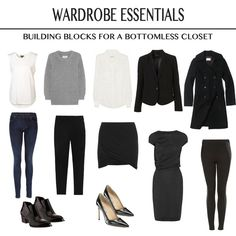 capsule wardrobe foundation pieces