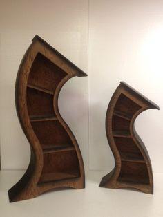Handgemachte 55 ft gebogen Bücherregal Eiche von WoodCurve auf Etsy