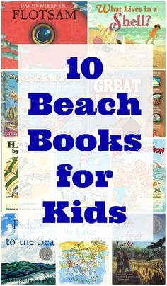 10 Children's Books about the Beach - favorite picture books and chapter books (both fiction & nonfiction) for kids and tweens about a day at the beach! Perfect for that summer reading list or beach vacation reads! Summer Books, Summer Reading Lists, Best Children Books, Fun Worksheets, Preschool Books, Fiction And Nonfiction, Summer Activities For Kids, Chapter Books, Literacy Activities