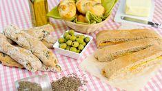 Možná už jste podlehli trendu domácího pečiva, možná ne. Po přečtení tohoto článku se na něj ale určitě vrhnete – vybrat si můžete olivový chleba, domácí houstičky nebo bílý chleba se sýrem a mrkví. Vegetables, Food, Meal, Veggies, Essen, Vegetable Recipes