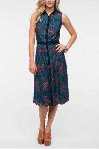 Cooperative Silky Schoolgirl Midi Dress