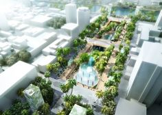 MVRDV's Tainan Axis Starts Construction in Taiwan