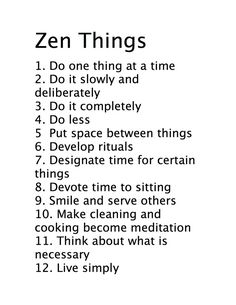 zen things - Google Search