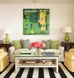 ikea Lack coffee table hack...add nailhead trim