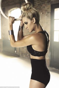 Ashley Roberts credits seamless knickers to her flawless showings as she takes part in sexiest shoot yet | Mail Online