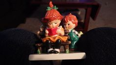 Goebel Red heads a young man's fancy by RogansRose on Etsy