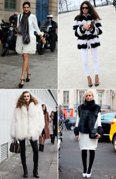 outfit inspo: wintery whites