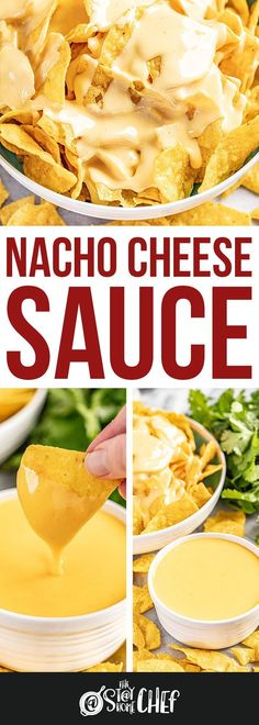 This Nacho Cheese Sauce is ridiculously easy to make, and tastes so much better than store bought. Enjoy it as a dip or on a plate of nachos. The best appetizer or snack! #nachocheesesauce #appetizer Homemade Nacho Cheese Sauce, Homemade Nachos, Recipes With Cheese Sauce, Home Made Nacho Cheese, Cheese Sauce For Nachos, Best Cheese For Nachos, Cheese Dipping Sauce, How To Make Cheese Sauce, Cheese Snacks