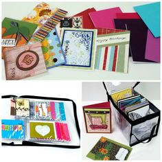 Learn how easy it is to organize greeting cards, handmade cards, and card supplies, with our helpful ''Card Making Supplies'' page.  #TotallyTiffany #organziation #crafter #craftroomstorage #cardmaking #scrapbooker #cardmaker #papercrafter #papercrafting