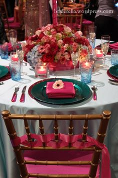 hot pink teal turquoise wedding... Wedding ideas for brides, grooms, parents & planners ... https://itunes.apple.com/us/app/the-gold-wedding-planner/id498112599?ls=1=8 … plus how to organise an entire wedding ♥ The Gold Wedding Planner iPhone App ♥ http://pinterest.com/groomsandbrides/boards/